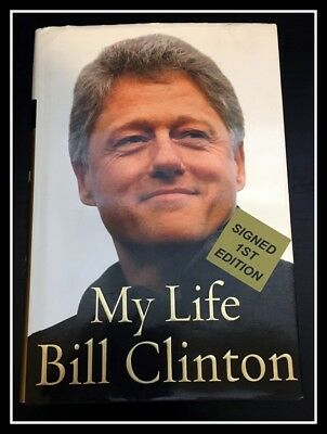 AUTOGRAPHED SIGNED My Life by President BILL CLINTON 1ST/1ST with COA & Free S&H