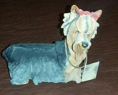 A Breed Apart Yorkshire Terrier Dog Figurine 70012 Country Artists Willitts 6""