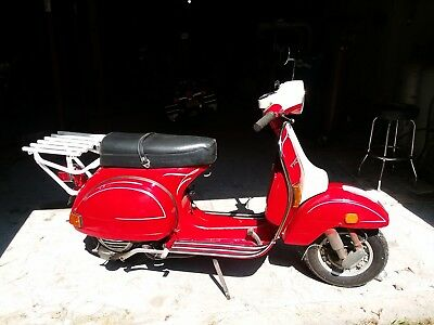 1980 Other Makes piaggio 200e  1980 vespa p200e