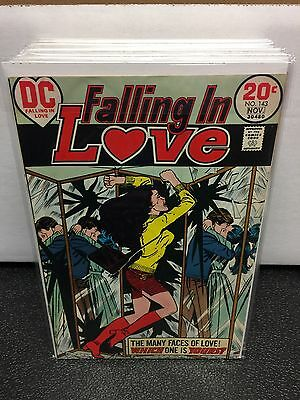 Falling in Love #143 (Oct-Nov 1973, DC) F-VF Condition