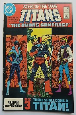 Tales of the Teen Titans 44 1st Jericho Nightwing Deathstroke VF+ DC Comic Book