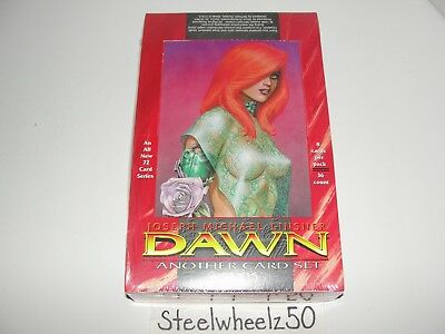 1998 Joseph Michael Linsner Dawn Another Card Set Factory Sealed Box Sirius RARE