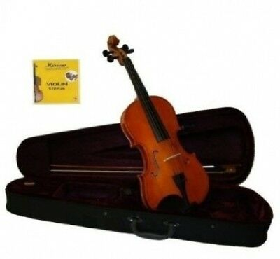 Grace 1/2 Size Violin for Beginners, Students with Case and Bow, Free Rosin