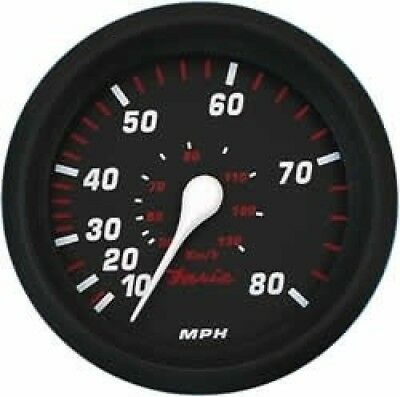 Faria Professional Red Speedo 80 MPH. Best Price