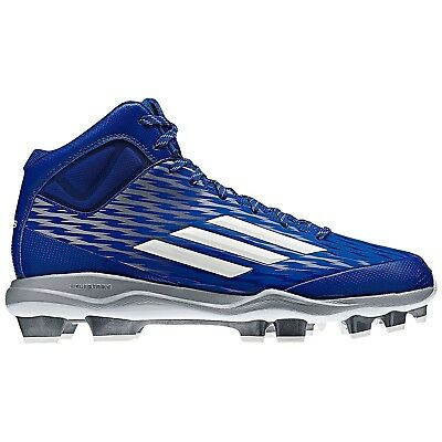 (9.5 D(M) US) - Adidas Power Alley 3 Tpu Mid Royal/White ( S84720 )