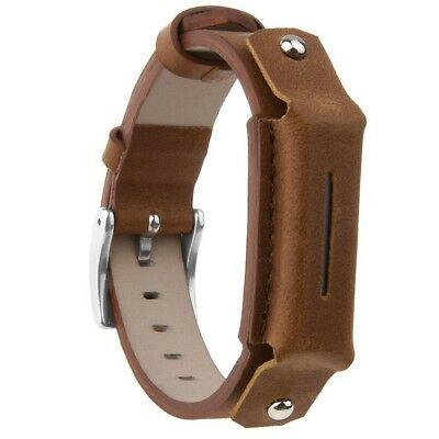 (Brown) - Austrake Newest Replacement Bands Genuine Leather Wristbands for