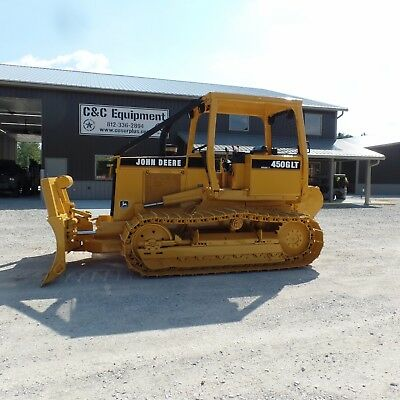 1997 Dozer John Deere 450G With Winch One Owner Good shape! LOW HOURS! Video!