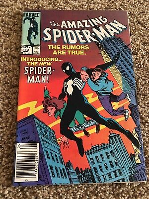 The Amazing Spider-Man #252 (May 1984, Marvel) 1st black suit! NICE