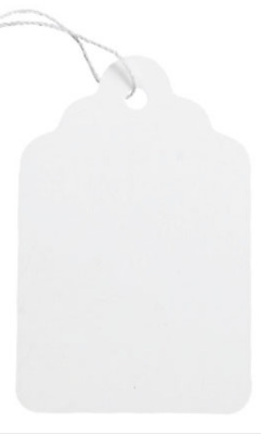 MERCHANDISE TAGS with String