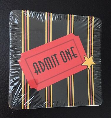 New Sealed Admit One Paper Coasters From Michaels