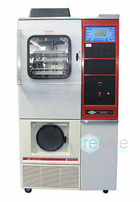 VirTis Genesis 25L Pilot Lyophilizer Freeze Dryer Digital Screen w/ Stoppering -