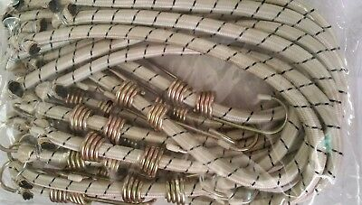 """Heavy Duty Bungee Cord with Galvanized Hooks 1/2"""" Diameter Strap Extra Long"""