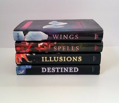 Lot of 4: WINGS books Laurel series by Aprilynne Pike -Hardcover -Free Shipping!