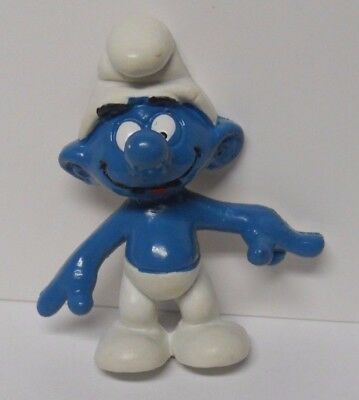 VINTAGE! 1983 Applause Smurfs Magnet-Pointer Smurf