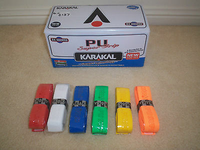 Brand New KARAKAL Grips suitable for Squash,Badminton,Tennis, Racqetball