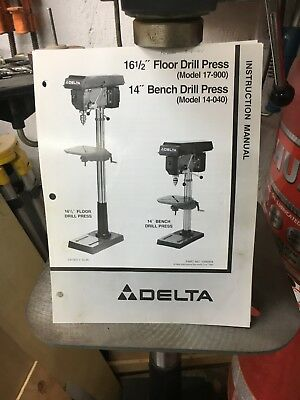 Delta 16-1/2 inch Floor Drill Press, excellent condition