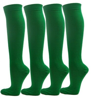 (Large, Green) - Knee High Premium Quality Sports Athletic Baseball Softball