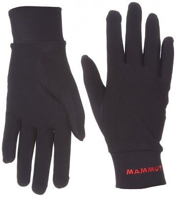 (Black, 10) - Gloves Men Mammut Thermostretch Gloves. Shipping Included