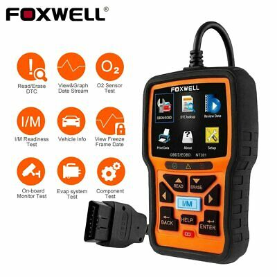 Foxwell NT301 Car  Engine OBD2 Diagnostic Scan Tool Scanner Fault Code Reader