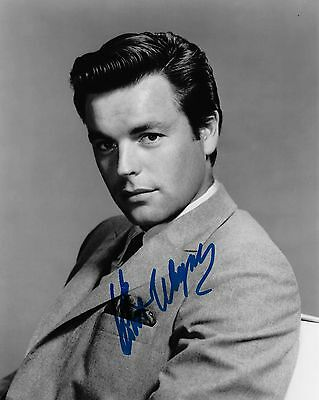 Robert Wagner Autographed 8x10 Photo (Reproduction) 6
