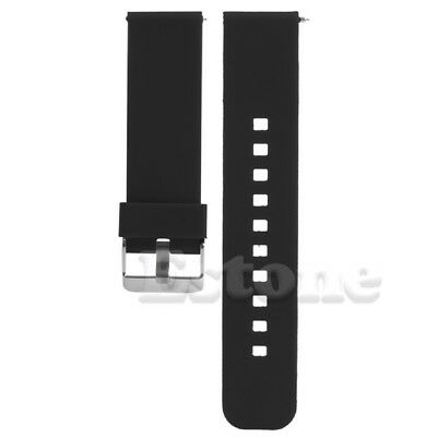 SCASTOE 22mm Release Silicone Watchband Watch Band Strap for Smart Watch