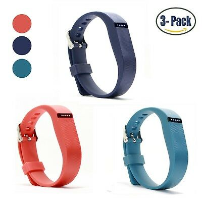 (Buckle Design-Navy+Orange+Slate) - Hotodeal Replacement Bands for Fitbit