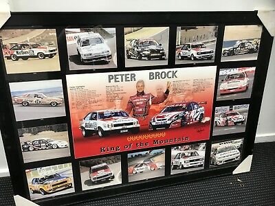 Peter Brock King of the Mountain print