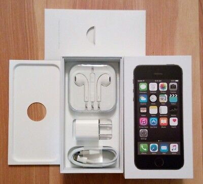 NEW Original iPhone 5S 16GB Space Gray Boxes and Accessories Bundles NO PHONEn