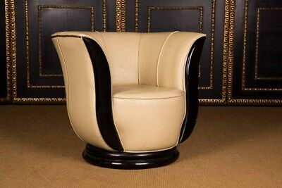 Gorgeous lotusförmiger Chair in the Art Deco Style