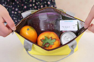 Waterproof Portable Picnic Insulated Food Storage Box Tote Lunch Bag  Lunch Bag