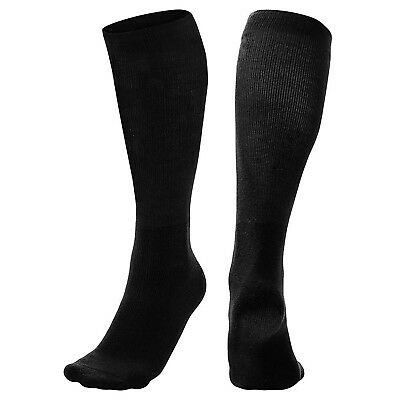 (X-Small) - Champro Multi-Sport Socks - Black. Delivery is Free