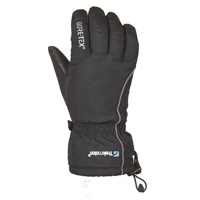 (M/L) - Trekmates Chamonix Gore-tex Active Winter Gloves - Black (2016 Model)