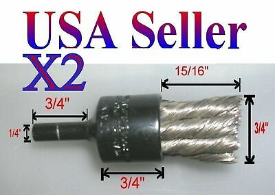 End Knot Wire End Brush Advance Brush Stainless AE-5 Drill Steel Wire Brush