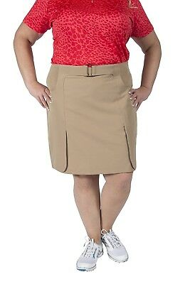 (16, Pink) - EP Pro 2-Way Stretch Poly Panel Skort. Shipping is Free