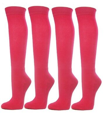 (Small, Bright Pink) - Knee High Premium Quality Sports Athletic Baseball
