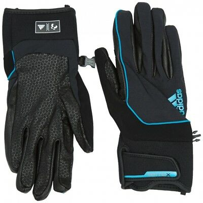 (Small, Black/Tech Grey F12) - adidas Terrex Softshell Glove. Delivery is Free