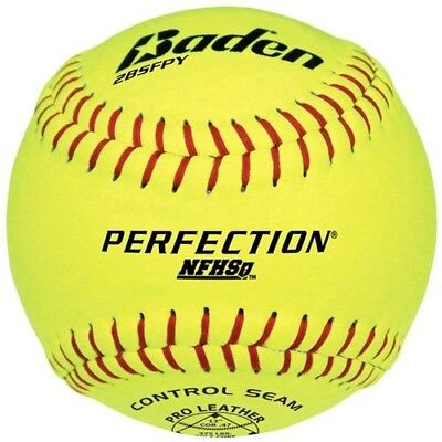 Baden 2Bsfpy Perfection Nfhs Fast Pitch Softballs 12 Ball Pack. Baden Sports