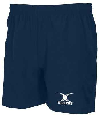 (Navy, Small) - Gilbert Rugby Team Practising Leisure Short Adults Sportswear