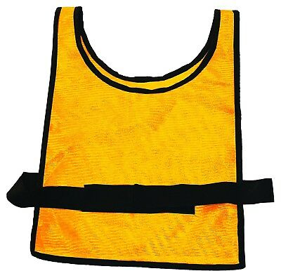 MARTIN SPORTS Heavy Weight Scrimmage Vests, Gold. Free Delivery