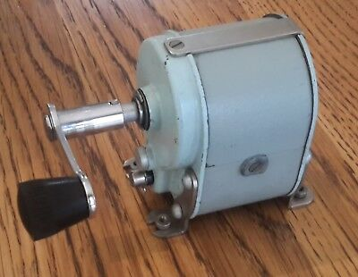 Vintage Magneto / Generator from a 300 Series Magneto PMG Telephone / Phone