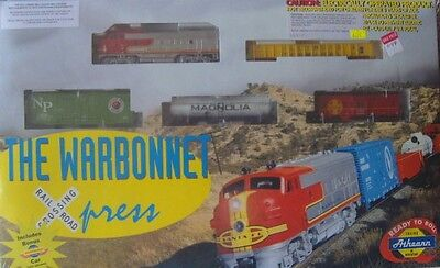 """Athearn HO train set """"The Warbonnet"""""""
