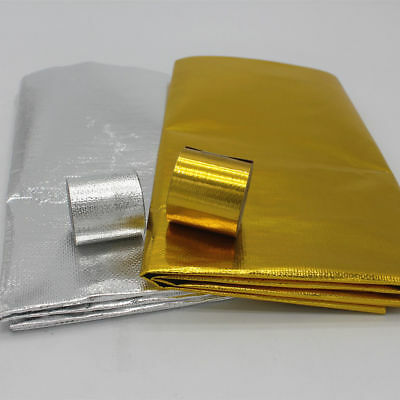 Reflect Gold/Silver Tape Wrap High Performance Reflective Heat Protection shield