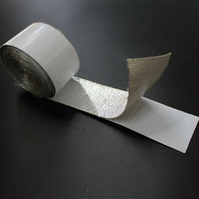 Thermo Shield Self Adhesive Aluminized Heat Barrier Tape 1''X 15m(50FT) Wrap NEW