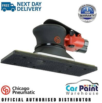 Chicago Pneumatic CP7264E 70x198mm Flat Bed / Straight Line H&L Air Sander