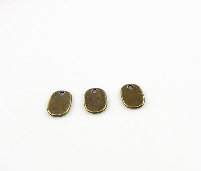 Retro Style Bronze Engraved Oval Zinc Alloy Charms Pendant Jewelry Crafts 149pcs