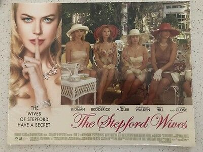 The Stepford Wives lobby card set (11x4) **SEALED**
