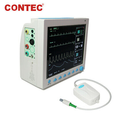 US Portable Vital Signs Patient Monitor Multiparameter ICU CCU Capnography ETCO2