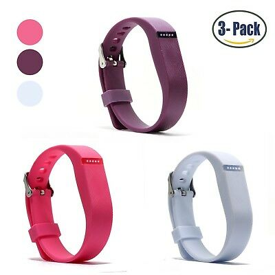 (Buckle Design-Purple+White+Pink) - Hotodeal Replacement Bands for Fitbit