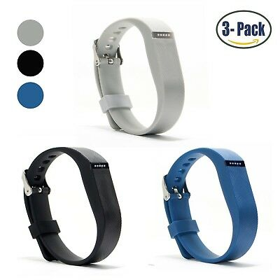 (Buckle Design-Black+Royal Blue+Light Grey) - Hotodeal Replacement Bands for