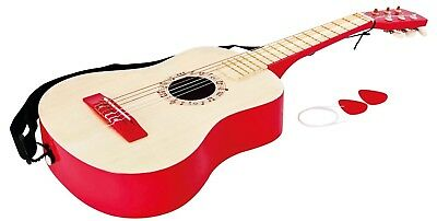 Vibrant Red Guitar. Hape. Shipping Included